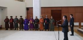 Уяачдад Монгол Улсын цол хүртээв