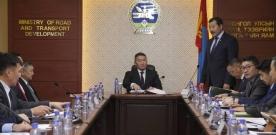 Монгол Улсын Ерөнхийлөгч Х.Баттулга ЗТХЯ-нд ажиллав