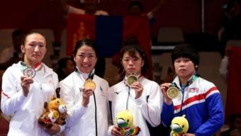 Манай тамирчид Азийн наадмаас 10 медаль хүртээд байна