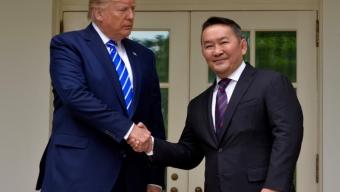 Монгол Улс, Америкийн Нэгдсэн Улсын харилцаа Стратегийн түншлэлийн түвшинд хүрснийг зарлалаа
