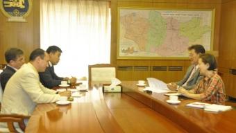 Шадар сайд БНХАУ-ын төлөөлөгчдийг хүлээн авч уулзлаа