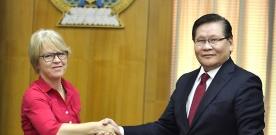 Шадар сайд НҮБ-ын Суурин төлөөлөгчийг хүлээн авч уулзав