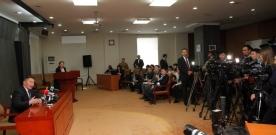 """Монгол Улсын Ерөнхийлөгч Х.Баттулга агаарын бохирдолтой """"Онц байдал"""" зарлан тэмцэх асуудлаар УИХ-ын даргад санал хүргүүлсэн талаар сэтгүүлчдэд мэдээлэл хийлээ"""
