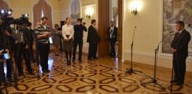 З.Энхболд Оросын сэтгүүлчдэд ярилцлага өгөв