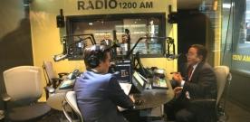 Ерөнхийлөгч PBS телевиз болон Блумберг радиод ярилцлага өглөө