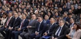 Монгол Улсын Ерөнхийлөгч Х.Баттулга МУИС-ийн шинэ номын сангийн нээлтэд оролцов