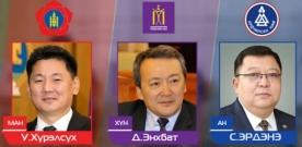 Ерөнхийлөгчийн сонгуульд нэр дэвшигчдийн МӨРИЙН ХӨТӨЛБӨР