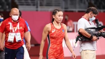 Б.Болортуяа олимпийн хүрэл медаль хүртлээ